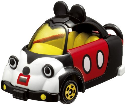 Takara Tomy Tomica Disney Motor Micky Mouse(1 car Models + 1 mini figure in same pack) by Tomica