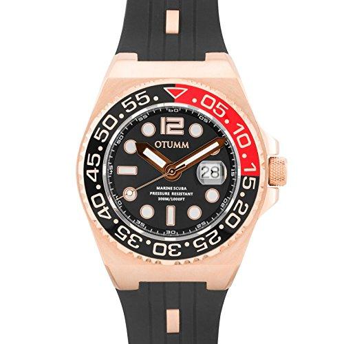 Otumm Scuba Unisex Reloj con Calendario 45mm 30ATM SCRG45-001: Amazon.es: Relojes