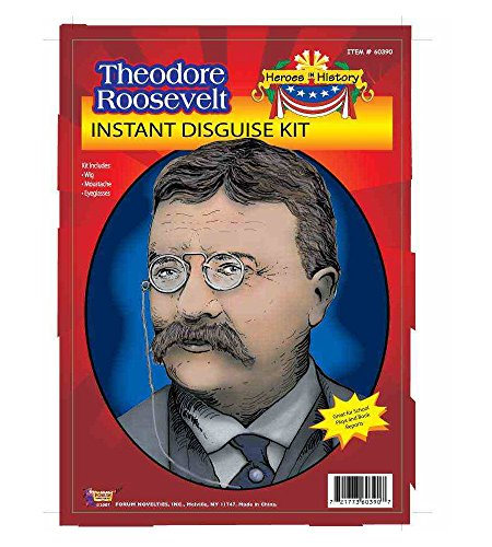 MyPartyShirt Theodore Roosevelt Costume Kit ()