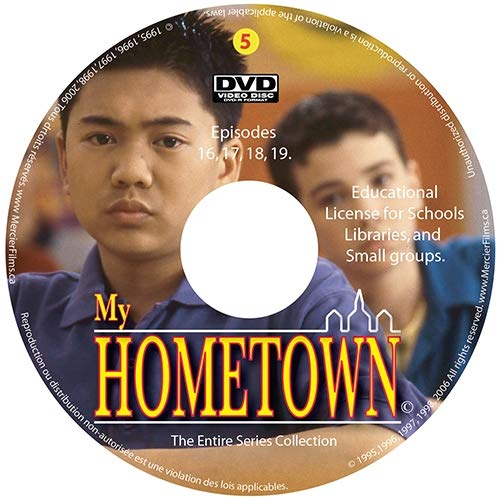 My Hometown - Disc 5 (Schools, Libraries, small groups license (non-profit) (Best For Profit Schools)