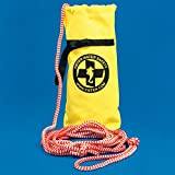 Kiefer Safety Throw Bag, Deployed Length - 50 Feet, Yellow
