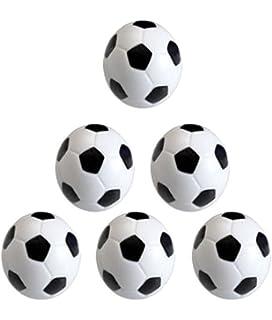 0ce818f38e Leisial 6pcs Mini Fútbol Juguete para Niños Mesa Futbolín Juego Deportes de  las Bolas Juego Deportes Educativo…