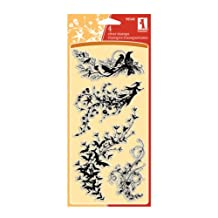 Halloween Trails Clear Stamps By Inkadinkado