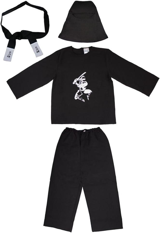 Das Kostümland Disfraz de Ninja Samurai para niños - Disfraz de ...