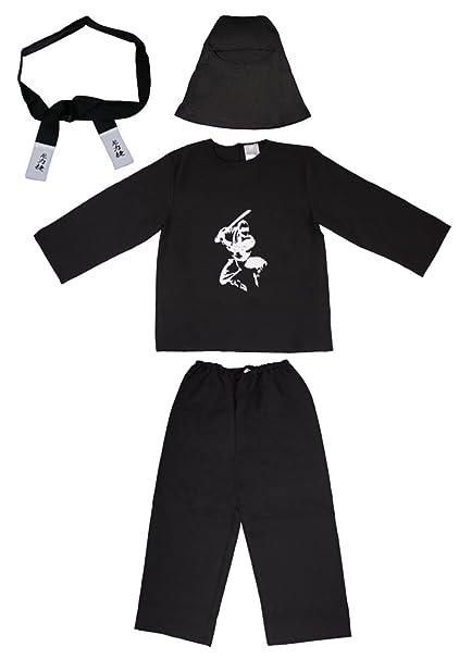 Das Kostümland Disfraz de Ninja Samurai para niños - Disfraz ...