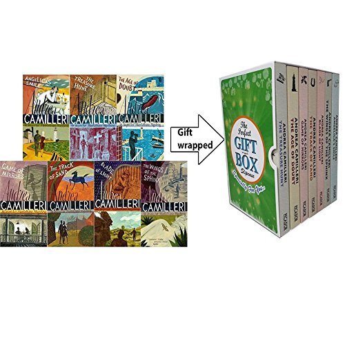 pector Montalbano Mysteries Collection 7 Books Bundle (The Treasure Hunt,Angelica's Smile,The Track of Sand,Game of Mirrors) Gift Wrapped Slipcase Specially For You ()