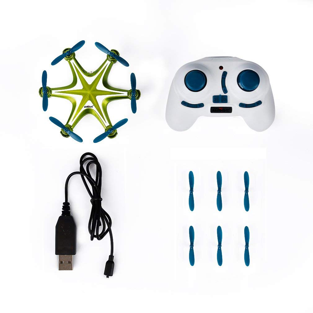 Mini RC Quadcopter Drone, RC Helicopter, 2.4Ghz 6-Axis Gyro 4 Channels Quadcopter Great Choice for Beginner and Kids