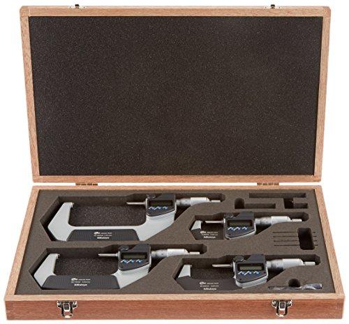 - Mitutoyo 293-963-30 Digimatic Micrometer Set, Range: 0-100 mm