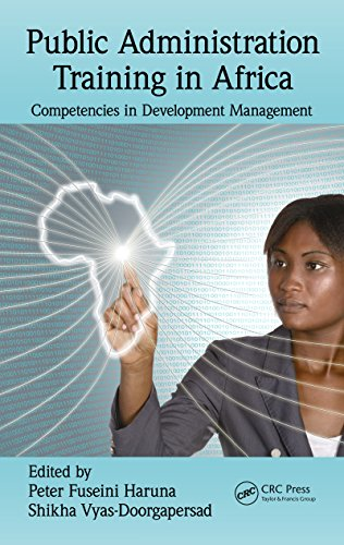 Download Public Administration Training in Africa: Competencies in Development Management Pdf