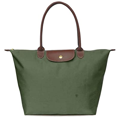 Amazon.com: BEKILOLE Women's Stylish Waterproof Tote Bag Nylon ...