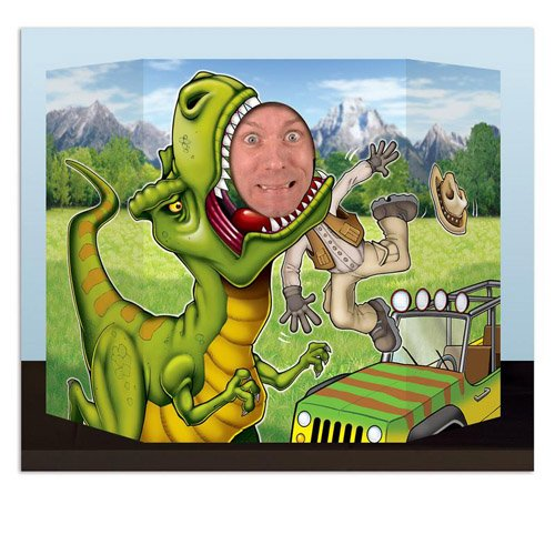 Beistle Dinosaur Photo Prop -