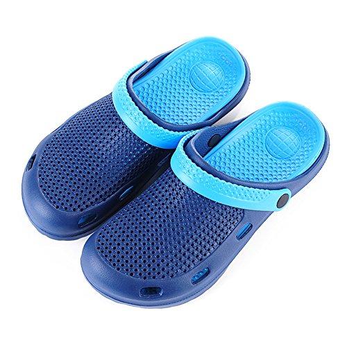 DULEE - Sandalias deportivas de goma eva para mujer Dark Blue Blue