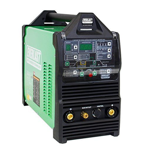 2019 Everlast PowerTIG 255 EXT Digital Ac Dc Tig Stick Pulse Welder Dual Voltage Inverter-based Ac Dc