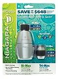 Niagara Bi-max Showerhead & Tri-max Sink Aerator by Niagara Conservation