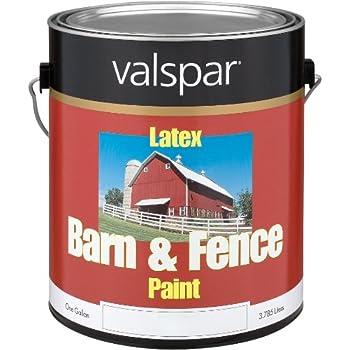 Amazon Com 1 Gallon Red Exterior Barn Amp Fence Latex Paint