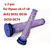 Wall of Dragon 2 pcs Vacuum Cleaner Parts Pre Motor Washable Filter Motors Head for Dyson