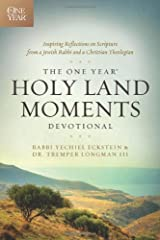 The One Year Holy Land Moments Devotional Paperback