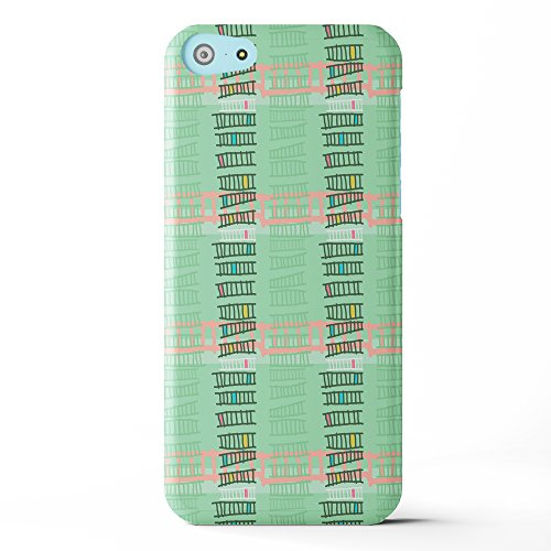 Koveru Back Cover Case for Apple iPhone 5C - Green Ladders
