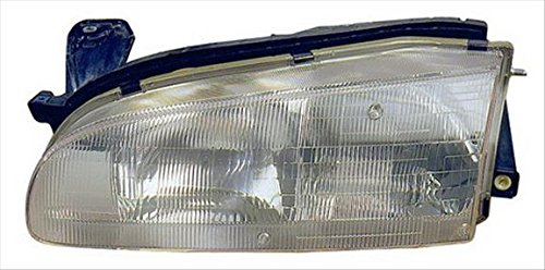 OE Replacement GEO Prizm Passenger Side Headlight Assembly Composite (Partslink Number GM2503134) (Geo Prizm Replacement Headlight)