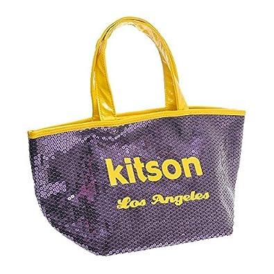 76ae01fd25fe Amazon | KITSON キットソン バッグ スパンコール ミニトートバッグ 3560 パープル | kitson(キットソン) | トートバッグ