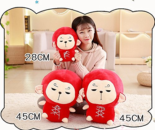 Amazon.com: Mikucos Hwayugi Korean Odyssey Monkey King Doll Plush Toy 12inches: Home & Kitchen