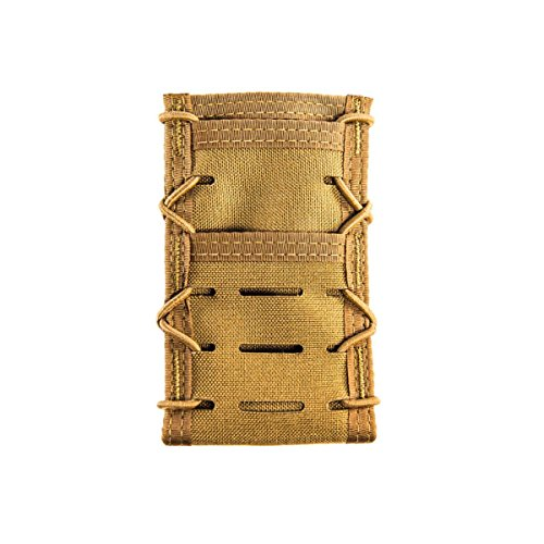 High Speed Gear iTaco Tech Pouch V2 Belt Mount (Large, Coyote Brown)