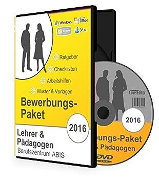 Bewerbungspaket LEHRER & PÄDAGOGEN: Bewerbungs-Ratgeber, Checklisten ...