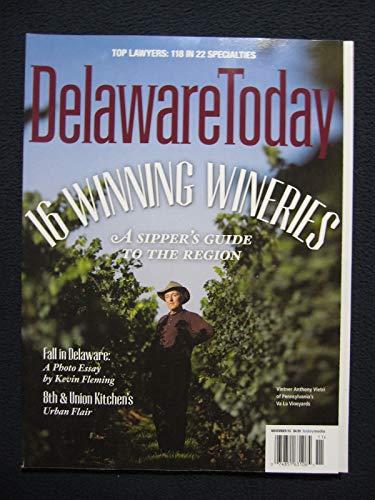 Delaware Today November 2015 - 16 Winning Wineries, Top ()