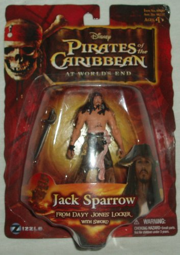 Pirates of the Caribbean Captain Jack Sparrow from
