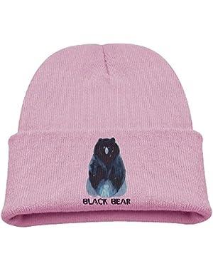 Dope Black Bear Girls SOF Lovely Cotton Cap Beanies