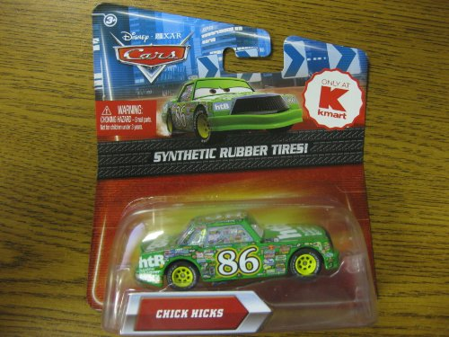 (Disney Pixar Cars Chick Hicks 1:55 Scale Exclusive Die-Cast with Synthetic Rubber Tires)