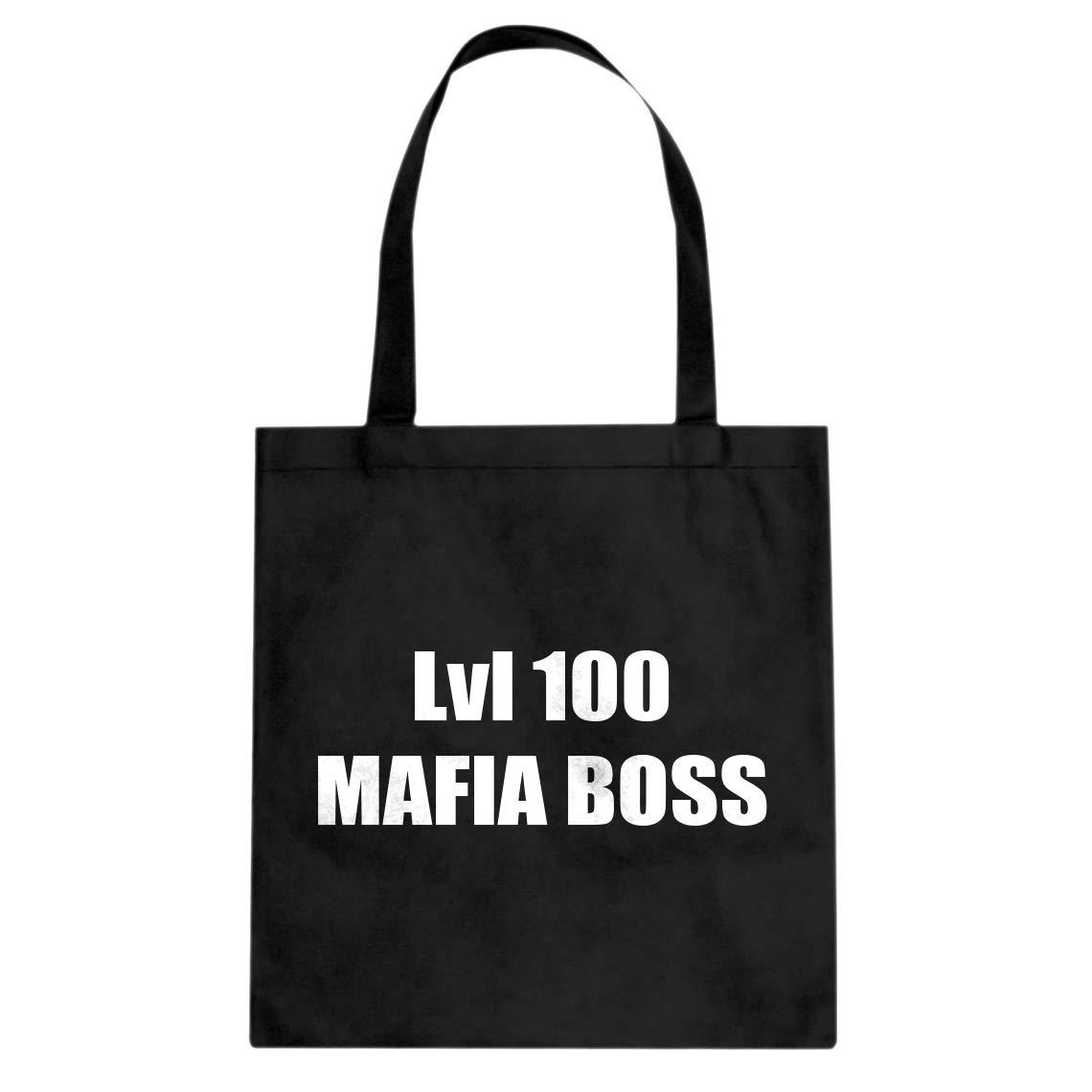 Indica Plateau Lvl 100 Mafia Boss Cotton Canvas Tote Bag