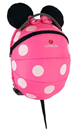 LittleLife Disney Pink Minnie Mouse Kids Backpack  Amazon.co.uk ... 484a040dded59