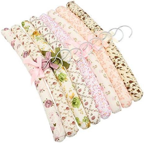 La vogue 5Pcs flores patr/ón rural estilo arco esponja suave Perchas 39*3cm Random Color