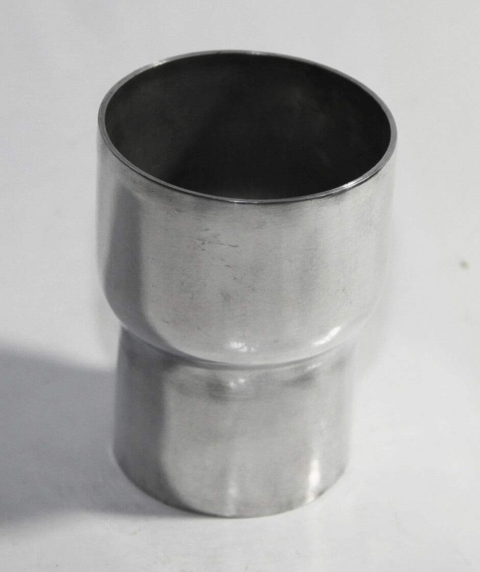 to 3 O.D 3.9 Length Universal Piping Aluminum Exhaust Reducer 2.5 O.D