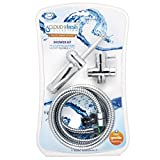 Cloud 9 Novelties Deluxe Enema Douche Premium Shower Kit with 2 Flow Regulators and 6 Foot Flexible Hose