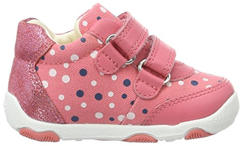 Geox B New Balu' Girl a, Botines de Senderismo para Bebés Rojo (Coralc7008)