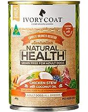 Ivory Coat 17070 Chick Coconut Stew 400gm Grain Free Dog Food
