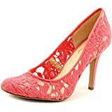 Jessica Simpson Amilee Women Round Toe Canvas Heels