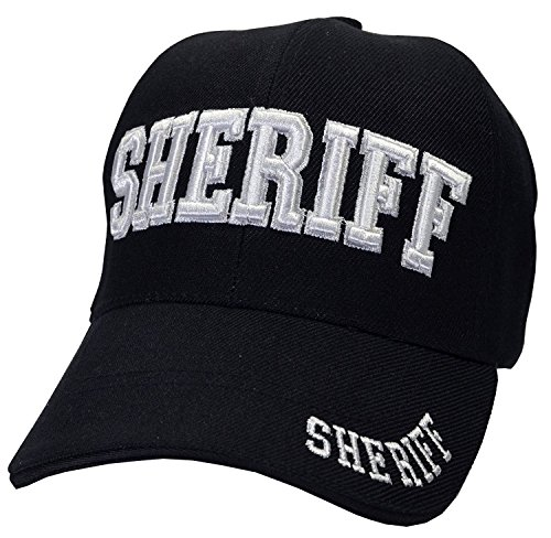 Ball Cap Officer - Sheriff, Law Enforcement Officer Gear, 3D Embroidered Baseball Cap Hat, Adjustable