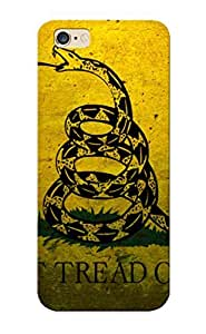 Ideal Inthebeauty Case Cover For Iphone 6 Plus(military Flags Usa Navy Concrete Dont Tread On Me Gadsden Flag ), Protective Stylish Case