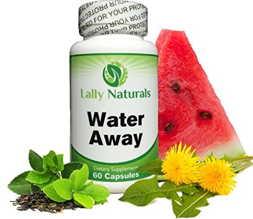 Natural Diuretic Water Pill - for Men and Women ★ Dandelion, Potassium & Green Tea to Lose Water Weight ★ Bloating Relief ★ Water Retention Pills ★ Premium Herbal Supplement ★ Gentle, Natural & Safe by Lally Naturals