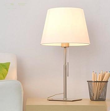 DENG E27 IKEA Lámpara de Mesa Dormitorio Salón Lámpara de ...