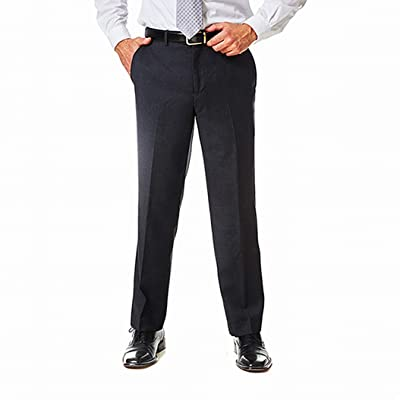 Adolfo Men's Wool and Cashmere Modern Fit Flat Front Suit Pant at Amazon Men's Clothing store