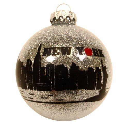 Christmas New York Ornament Holiday New York City Big Apple Ornament Christmas Tree Ornament (3