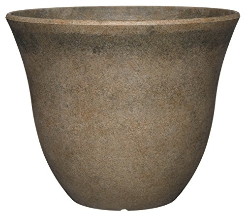- Classic Home and Garden Honeysuckle Planter, Patio Pot, 13