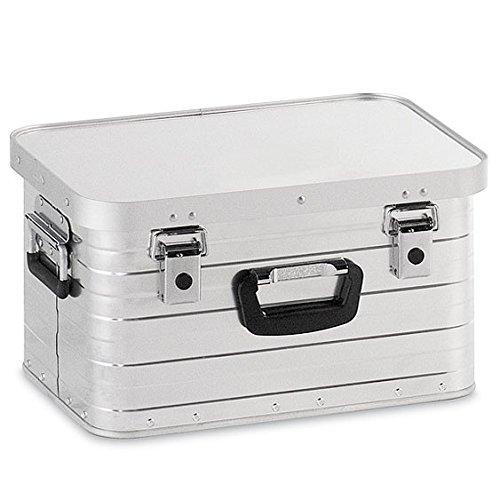 Alubox 29 Liter, hochwertig verarbeitet, mit Moosgummidichtung, Alukiste flexibel verwendbar als Transportbox und Lagerbox - Alukoffer Lagerkisten Metallkiste Metallbox Aluboxen Alukisten