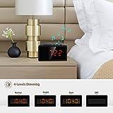 Alarm Clock Radio with Bluetooth Speaker - Digital