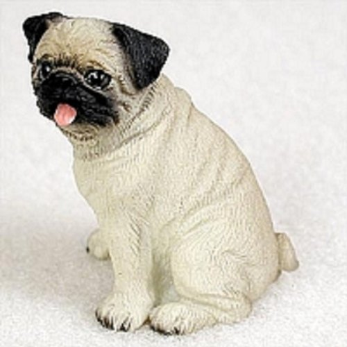 Conversation Concepts Pug Fawn Tiny One Figurine (Tiny Resin)