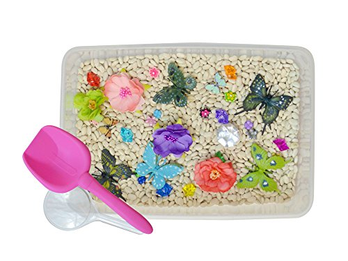 Discovery Box for Sensory Play - Butterfly Garden Theme